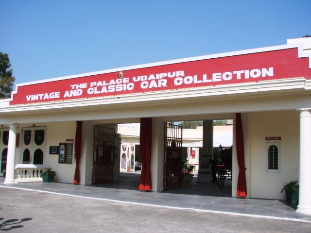 Vintage Collection of Classic Cars Museum Udaipur